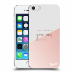 Picasee silikónový prehľadný obal pre Apple iPhone 5/5S/SE - You create your own opportunities