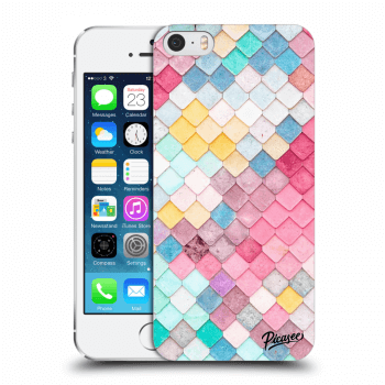 Obal pre Apple iPhone 5/5S/SE - Colorful roof