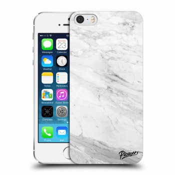 Obal pre Apple iPhone 5/5S/SE - White marble