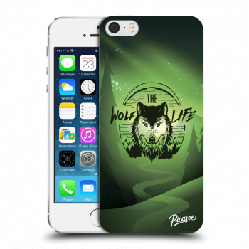 Obal pre Apple iPhone 5/5S/SE - Wolf life