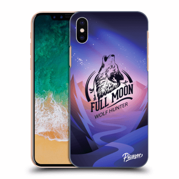 Obal pre Apple iPhone X/XS - Wolf