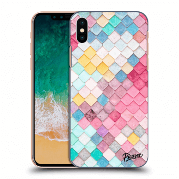 Obal pre Apple iPhone X/XS - Colorful roof