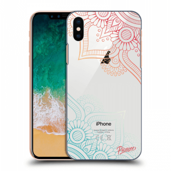 Obal pre Apple iPhone X/XS - Flowers pattern