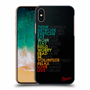 Obal pre Apple iPhone X/XS - Motto life
