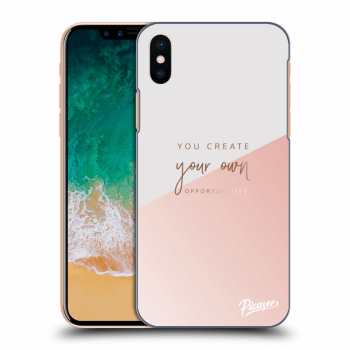 Obal pre Apple iPhone X/XS - You create your own opportunities