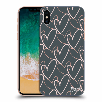 Obal pre Apple iPhone X/XS - Lots of love