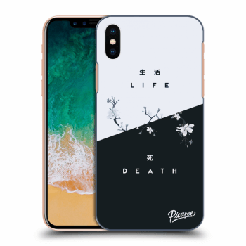 Obal pre Apple iPhone X/XS - Life - Death
