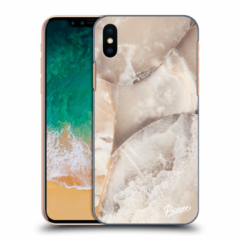 Obal pre Apple iPhone X/XS - Cream marble