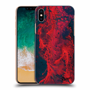 Obal pre Apple iPhone X/XS - Organic red