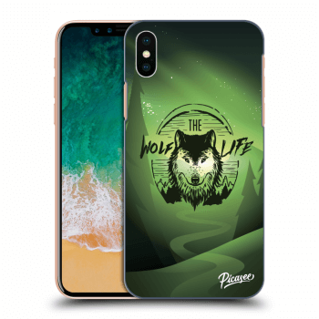 Obal pre Apple iPhone X/XS - Wolf life