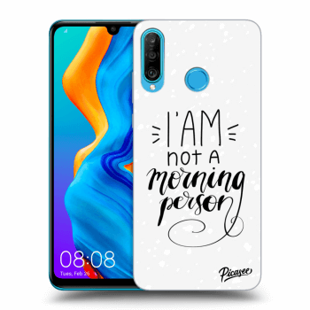 Obal pre Huawei P30 Lite - I am not a morning person