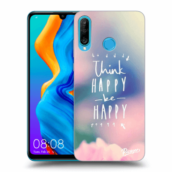 Obal pre Huawei P30 Lite - Think happy be happy