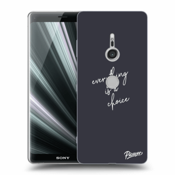 Obal pre Sony Xperia XZ3 - Everything is a choice