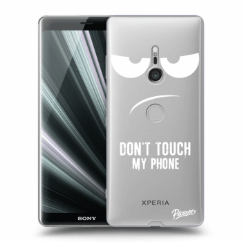 Obal pre Sony Xperia XZ3 - Don't Touch My Phone