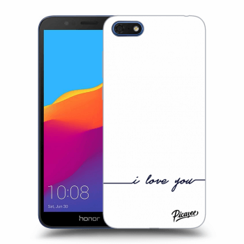 Obal pre Honor 7S - I love you