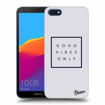 Obal pre Honor 7S - Good vibes only