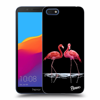 Obal pre Honor 7S - Flamingos couple