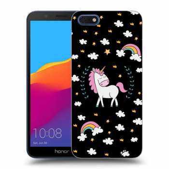 Obal pre Honor 7S - Unicorn star heaven