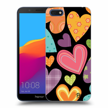 Obal pre Honor 7S - Colored heart