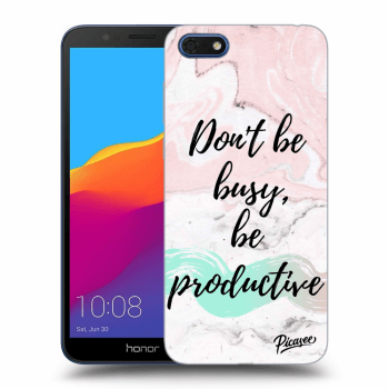 Obal pre Honor 7S - Don't be busy, be productive