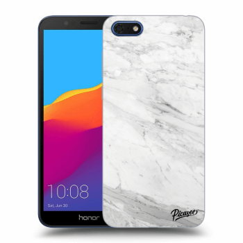 Obal pre Honor 7S - White marble