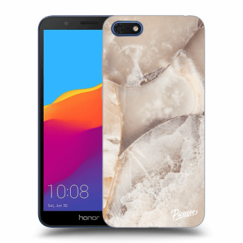 Obal pre Honor 7S - Cream marble