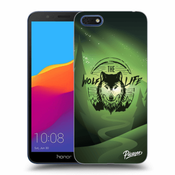 Obal pre Honor 7S - Wolf life