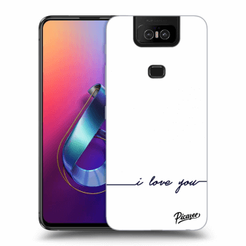 Obal pre Asus Zenfone 6 ZS630KL - I love you