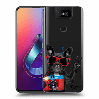Obal pre Asus Zenfone 6 ZS630KL - French Bulldog
