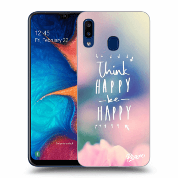 Obal pre Samsung Galaxy A20e A202F - Think happy be happy