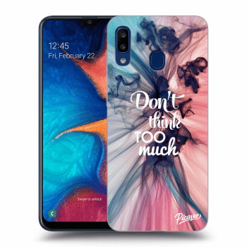 Obal pre Samsung Galaxy A20e A202F - Don't think TOO much