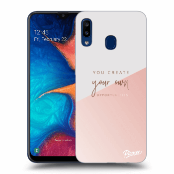 Obal pre Samsung Galaxy A20e A202F - You create your own opportunities