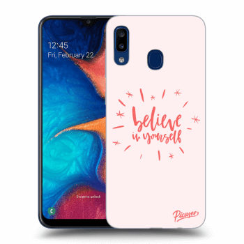 Obal pre Samsung Galaxy A20e A202F - Believe in yourself