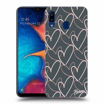 Obal pre Samsung Galaxy A20e A202F - Lots of love