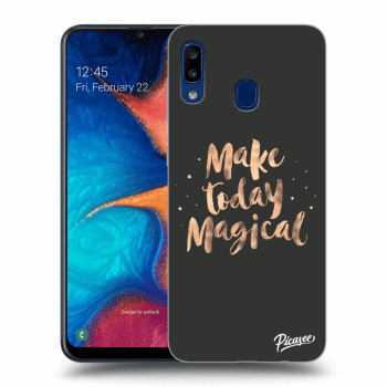 Obal pre Samsung Galaxy A20e A202F - Make today Magical