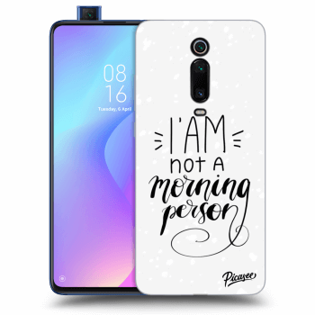Obal pre Xiaomi Mi 9T (Pro) - I am not a morning person