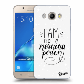 Obal pre Samsung Galaxy J5 2016 J510F - I am not a morning person
