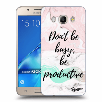 Obal pre Samsung Galaxy J5 2016 J510F - Don't be busy, be productive