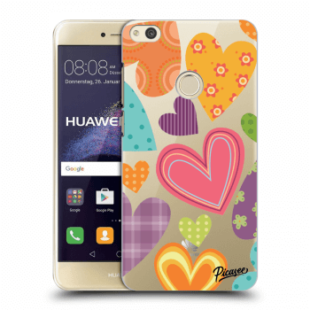 Obal pre Huawei P9 Lite 2017 - Colored heart