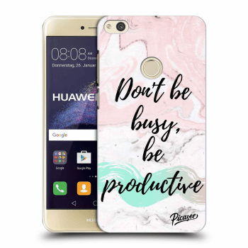 Obal pre Huawei P9 Lite 2017 - Don't be busy, be productive