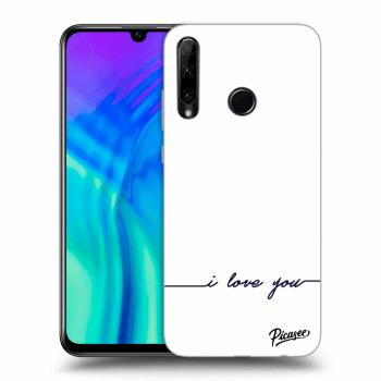 Obal pre Honor 20 Lite - I love you