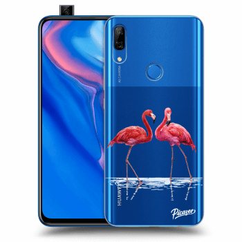 Obal pre Huawei P Smart Z - Flamingos couple