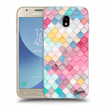 Obal pre Samsung Galaxy J3 2017 J330F - Colorful roof
