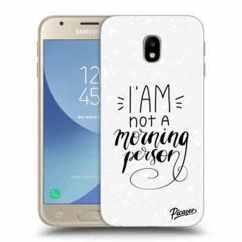 Obal pre Samsung Galaxy J3 2017 J330F - I am not a morning person