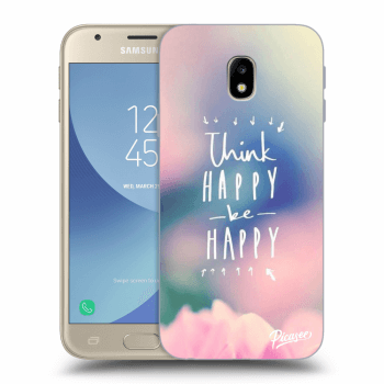 Obal pre Samsung Galaxy J3 2017 J330F - Think happy be happy