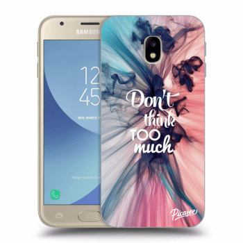 Obal pre Samsung Galaxy J3 2017 J330F - Don't think TOO much