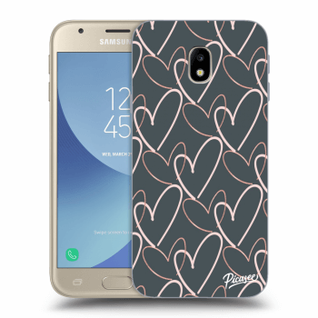 Obal pre Samsung Galaxy J3 2017 J330F - Lots of love