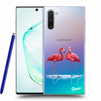 Obal pre Samsung Galaxy Note10 N970F - Flamingos couple
