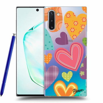 Obal pre Samsung Galaxy Note10 N970F - Colored heart