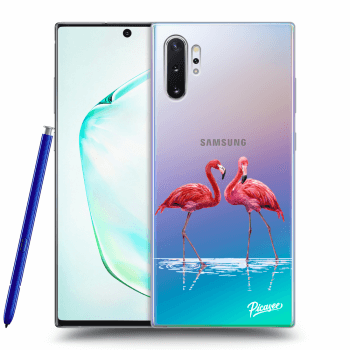 Obal pre Samsung Galaxy Note10+ N975F - Flamingos couple